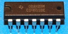 4011B NAND Gate, Quad 2-Input, DIP-14