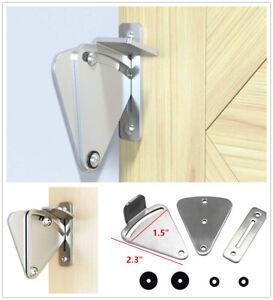 Stainless Steel Latch Sliding Door Lock for Sliding Barn Wood Door Privacy Gate