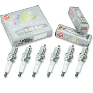 6 pcs NGK Laser Platinum Spark Plugs for 2003 Isuzu Rodeo Sport 3.2L - id
