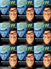 CGW RARE 2010 Megamind Disney Pixar Tangled Blood Stone James Bond 007 Rapunzel
