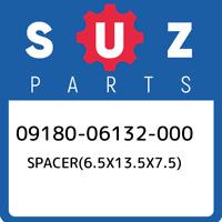 09180-06132-000 Suzuki Spacer(6.5x13.5x7.5) 0918006132000, New Genuine OEM Part