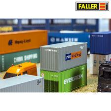 """FALLER 180824 H0 20' Container """"P&O Nedlloyd"""" ++ NEU & OVP ++"""