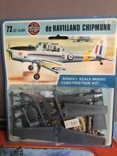 vintage maquette AIRFIX 70' avion de HAVILLAND CHIPMUNK