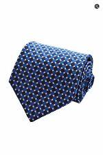 $175 NEW Pierre Balmain Couture Blue Dotted Italian Silk Designer Neck Tie