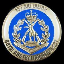 AUSTRALIAN ARMY 1st BATTALION 1 RAR COIN MEDALLION ROYAL AUSTRALIAN REGIMENT -01