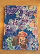 NUOVO Blue Note Book NOTEBOOK Carta da SCRIVERE MEMO Pad Foderato DIARIO SCUOLA Vittoriana