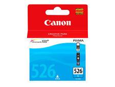 Ink Cartridge Original Origin Canon 526 Cli-526c Cyan 9ml Genuine