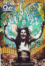 "Ozzy Osbourne ""Ha Ha Ha Haaa"" Poster From Asia-Black Sabbath, Heavy Metal Music"