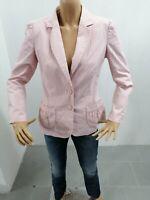 Giacca LUISA SPAGNOLI Donna Taglia Size 46 Jacket Woman Veste Femme Rosa 7696