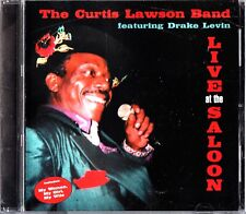 The Curtis Lawson Band/Drake Levin - LIVE At The Saloon CD 2000 Norman Winker