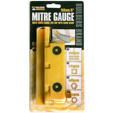 "Builders Brand 61450 Adjustable Mitre Gauge 150mm (6"") Use With Handsaws"