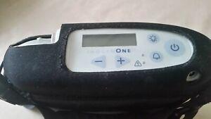 Mobiler Sauerstoffkonzentrator mit viel Zubehör, gebr. Topzustand