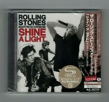 "ROLLING STONES ""SHINE A LIGHT"" JAPAN 2 SHM-CD +1 Bonus Track *SEALED*"