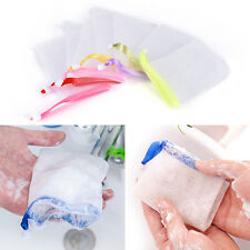 5X Fad Saving Cleanser Soap Foaming Facial Body Face Cleansing Net Bubble Bag YJ