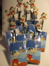 10 party bag pirate note books and pencils lovely wooden party bag presents