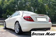2005 2011 Mercedes-Benz SLK200 250 350 SLK 55 AMG SLK55 Trunk Spoiler lip R171