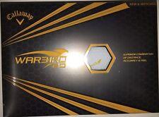 3 DZ Callaway Warbird 2.0 Golf Balls