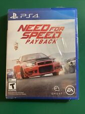 NEED FOR SPEED PAYBACK For PS4 Best Selling Action Driving Racing Sealed