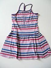 robe + son fichu SERGENT MAJOR 7 ans Fille coton d'été sans manches