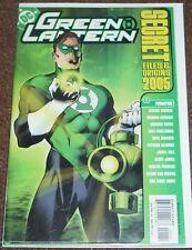 DC COMICS GREEN LANTERN SECRET FILES & ORIGINS 2005