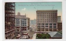 REBUILDING THE CITY AFTER FIRE, SAN FRANCISCO: California USA postcard (C30263)
