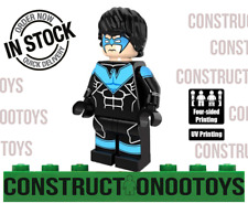 Nightwing lego Custom PAD UV PRINTED Minifigure Nightwing