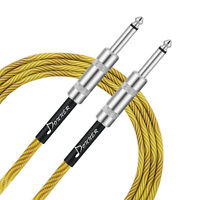Donner Guitar Cable 10/20ft Premium Electric Instrument Bass Cable AMP Cord 1/4""