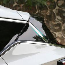 For Nissan Murano 2015 2016 2017 Rear Window Windshield Stainless Steel Trim 2X