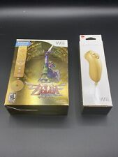 The Legend of Zelda: Skyward Sword (Nintendo Wii) - BONUS GOLD NUNCHUCK! MINT