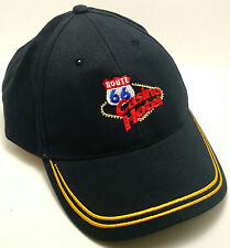 ROUTE 66 CASINO HOTEL Hat Cap Adjustable Black New Mexico Albuqurque