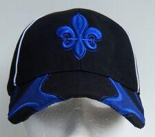 Quebec New Flag Fleur De Lys Hat Baseball Cap Chapeau Casquettes