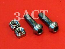 2-Titanium Bolt M5 x 17.5mm & 2-Ti Nut - Shimano XTR M980, XT M780 Saint Shifter