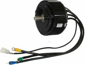 DC Motor, Brushless 5kw (light weight, high torque, compact, three phase)