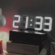 Multifuncional Reloj de Pared y mesa | Digital LED Tiempo Despertador 12H / 24H