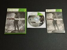 New listing Tomb Raider Microsoft Xbox 360 Complete w/ Manual Clean Tested!