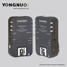 Yongnuo  YN-622N II  Wireless TTL Flash Trigger with HSS for Nikon Cameras