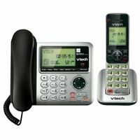 VTech CS6649 Corded/Cordless Phone With Answering System DECT 6.0 Expandable