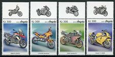 Angola Motorcycles Stamps 2019 MNH BMW KTM Yamaha Suzuki Motoring 4v Set