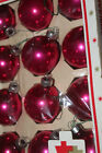 "Vintage Shiny Brite 2"" Pink Mercury Glass Christmas Ornaments"