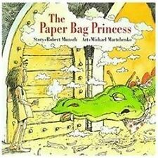 The Paper Bag Princess by Robert Munsch (1989, Hardcover)