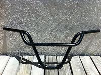 BICYCLE FREE STYLE BLACK HANDLEBAR PRETZEL 22.2MM BMX CRUISER CYCLING NEW