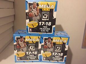 (1) 2017-18 Donruss Optic Sealed Mega Box Basketball - Tatum Mitchell RC