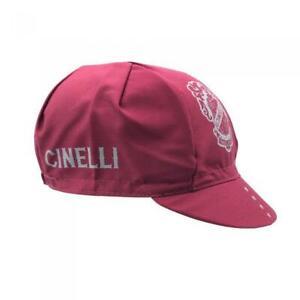 Cinelli Crest Cycling Cap in Burgundy