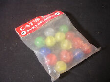 Old Vtg Collectible Cat's Eye Marble King Marbles Bag 14