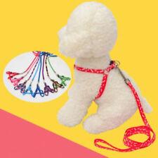 Adjustable Nylon Rope Pet Dog Cat Training Leash Walking Leading Collar strap