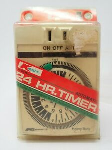 Vintage 1970s Kmart 24 Hour Automatic Timer Polarized In Original Packaging
