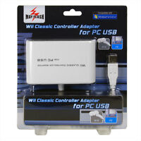 MayFlash Dual Port Wii Classic Controller Pro Nunchuk USB Adapter for PC PS3