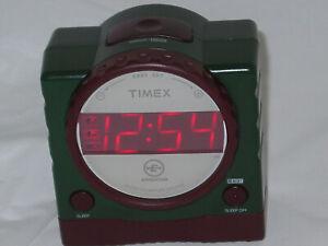 Timex Expedition T155Q Nature Sounds Digital Alarm Clock Dual Alarms