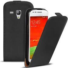 Flip Cover Case Samsung Galaxy S3 Mini Schutzhülle Handy Schutz Hülle Tasche