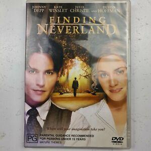 Finding Neverland (DVD) Region 4 Tracked Post Johnny Depp Kate Winslet